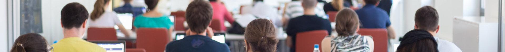 teenagers attending class